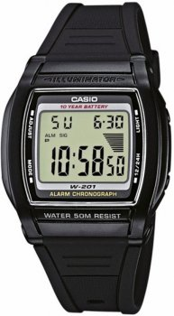 Мужские часы CASIO W-201-1AVEF