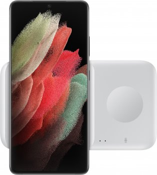 Беспроводное зарядное устройство Samsung Wireless Charger Duo White (EP-P4300TWRGRU)