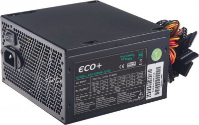 Блок живлення EuroCase ECO+80 350W (ATX-350WA-12-80)