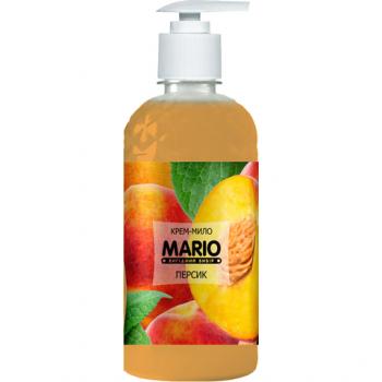 Жидкое крем-мыло MARIO 500мл (насос) Персик