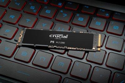 Crucial P5 NVMe 500GB M.2 2280 PCIe 3.0 x4 3D NAND TLC (CT500P5SSD8)