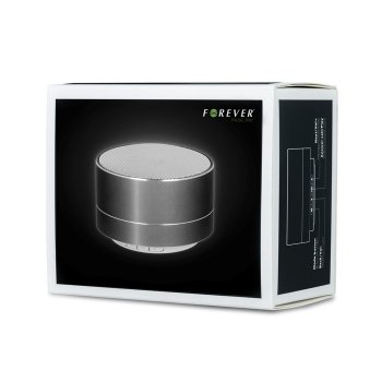 Портативна колонка Forever bluetooth speaker PBS-100 (silver) GSM022446