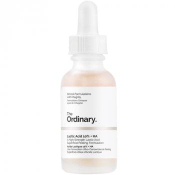 Сыворотка с молочной кислотой 10% The Ordinary Lactic Acid 10% + HA 30ml