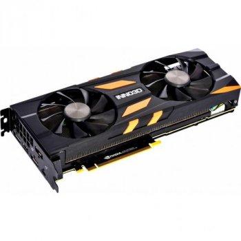 Видеокарта Inno3D GeForce RTX2080 Ti 11Gb X2 OC (N208T2-11D6X-2150633)
