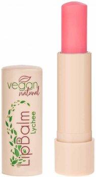 Бальзам для губ Vegan Natural личи 4.8 г (5906942720028)