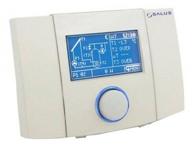 Контроллер для солнечных коллекторов Salus, 12 схем подключений с управлением PWM (PCSol 201 Classic)
