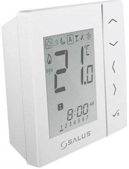 Беспроводной, цифровой регулятор температуры Salus 4в1, белый, 230V (VS10WRF)