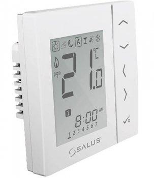 Цифровой регулятор температуры Salus 4в1, белый, 230V совместим с устройствами серии iT600 Communica (VS10W)