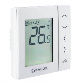 Суточный, электронный терморегулятор Salus, белый, скрытого монтажа, 230V (VS35W)