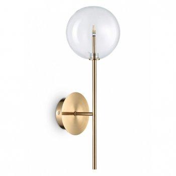Настенный светильник Ideal Lux Equinoxe Ap1 Ottone Antico (200149)
