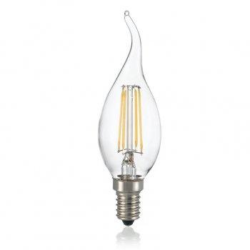 Світлодіодна лампа Ideal Lux Classic E14 4W Colpo Vento Trasp 3000K Dimmer (188911)