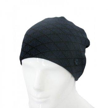 Шапка черно-синяя Magneet free size (Atlanta-R-navy-black)