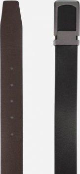 Мужской ремень кожаный Colmen R01-A68A 120 см Черный