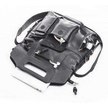 "Сумка-рюкзак для MacBook Pro 13,3"" Dublon Megapolis Classic Black (910)"