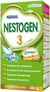 Упаковка детской смеси Nestle Nestogen 3 с 12 месяцев 350 г х 12 шт (7613032309008)