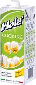 Ультрапастеризованные растительные сливки Hole на основе растительного масла 1000 г (8007990002269)