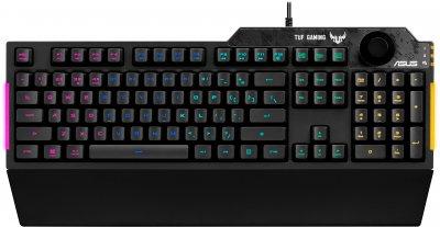 ХІТ-комплект Asus клавіатура TUF Gaming K1 (90MP01X0-BKRA00) + миша TUF Gaming M5 (90MP0140-B0UA00)