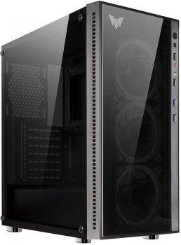 Корпус Crown CMC-GS10B 600 Вт Black (CMC-GS10B 600W PLUS)