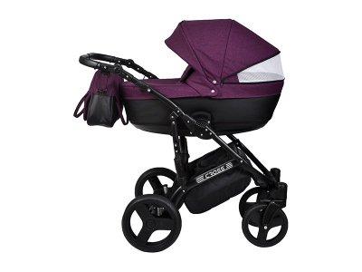 Детская коляска 2 в 1 Angelina Cross Solo фиолетовая color 25