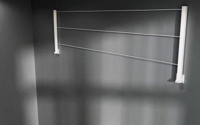 Балконная сушилка для белья Vian-Dizain 600 мм белая