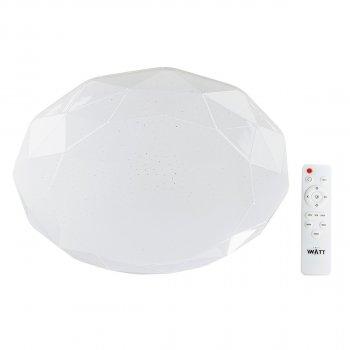Світильник світлодіодний V-WATT Diamante 75W R пульт ДУ (Настінно-стельовий, Люстра LED)