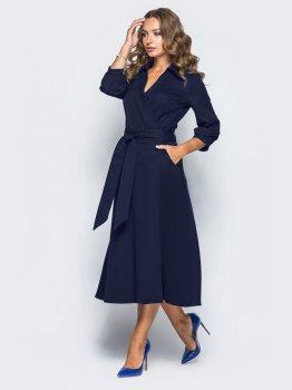 Плаття Dressa 16476 Темно-синє