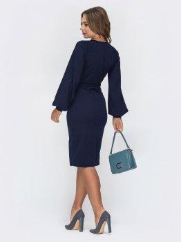 Плаття Dressa 44934 Темно-синє