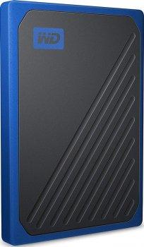 "Western Digital My Passport Go 500GB 2.5"" USB 3.0 Blue (WDBMCG5000ABT-WESN) External"