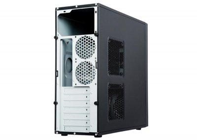 Корпус Chieftec Elox HQ-01B-OP без БЖ, 2xUSB3.0, Black
