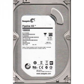 Накопитель HDD SATA 1.0TB Seagate Pipeline HD 5900rpm 64MB (ST1000VM002) - Refubrished
