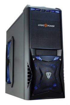 Корпус Logicpower 8818 без БЖ, 2хUSB3.0, Black