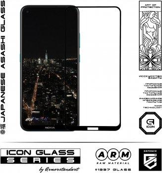 Захисне скло Armorstandart Icon для Nokia 3.4 Black (ARM57294)