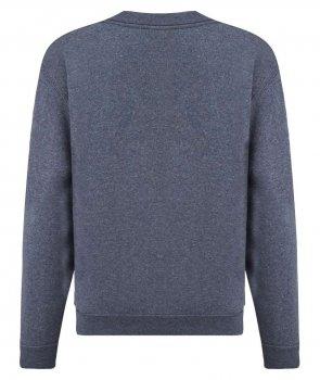 Пуловер Fruit of the Loom Classic set-in sweat kids Темно-синий