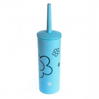 Ершик для унитаза Vanstore Цветок синий (NL70847509)