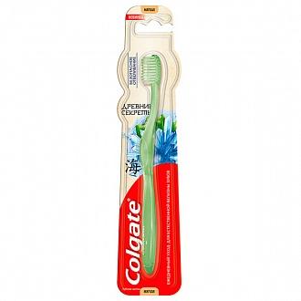 Зубная щетка Colgate Древние Секреты Безопасное отбеливание мягкая (NL51334395)