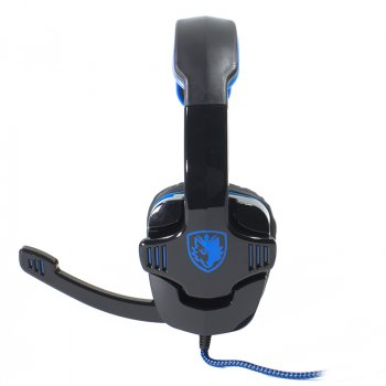 Навушники з мікрофоном SADES SA-901 Black/Blue (1349-5970)