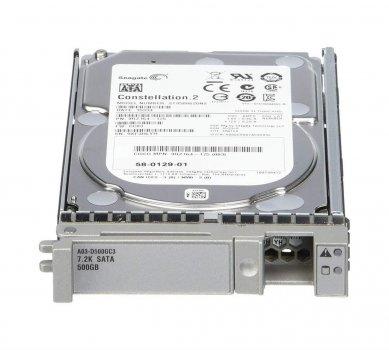 Cisco Cisco RF 500GB6GbSATA7.2K RPM SFFhotplug/driv (A03-D500GC3-RF) Refurbished