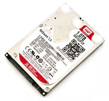 HDD WD WESTERN DIGITAL RED 1TB 2.5INCH SATA HDD (WD10JFCX) Refurbished