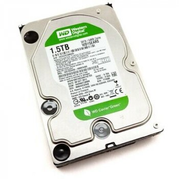 HDD WD WD 1.5 TB 7.2 K 3.5 INCH SATA (WD15EVDS-63V9B0) Refurbished