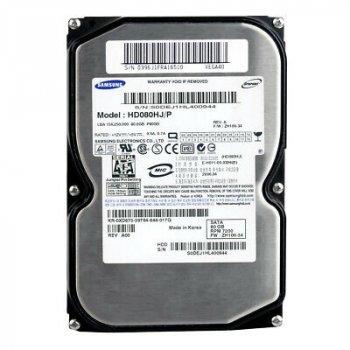 HDD Samsung SAMSUNG 80GB 7/2K 3.5 SATA HDD (HD083GJ) Refurbished