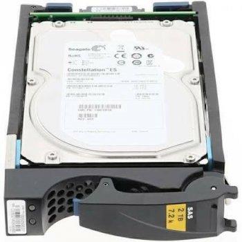 HDD EMC EMC 2TB 7.2 K 6G SAS HOTSWAP 3.5 INCH HDD (ST2000NM0001-EMC) Refurbished