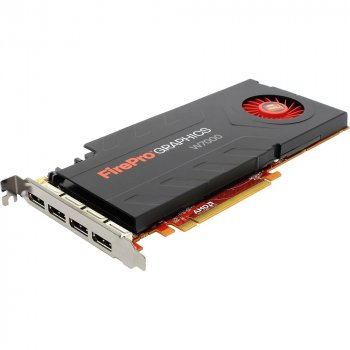 Відеокарта AMD Dell Grafikkarte FirePro W7000 4GB 4x DP PCI-E x16 (0204R2) Refurbished