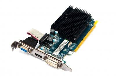 Видеокарта 3RD PARTY SAPPHIRE RADEON HD5450 1GB DDR3 PCIE HDMI GRAPHICS CARD (11166-02) Refurbished
