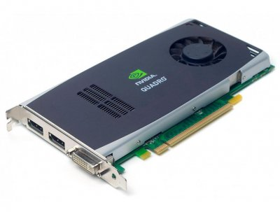 Відеокарта HPE HPE nVIDIA QuadRO FX 1800 GRAPHICS Card (030-2377-001) Refurbished