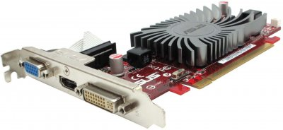Видеокарта Asus ASUS SILENT/DI/1GD3(LP) RADION HD 6450 GRAPHIC CARD (EAH6450) Refurbished