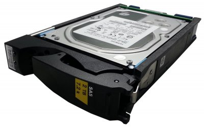 HDD EMC EMC Disk 2TB 7.2 K SAS 3,5 (V3-VS07-020U) Refurbished