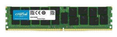 Оперативная память Crucial CRUCIAL 32GB (1*32GB) 2RX4 PC4-17000 DDR4-2133MHZ 1.2V MEM MOD (CT32G4RFD4213) Refurbished