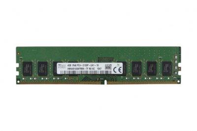 Оперативная память Hynix HYNIX 4GB (1*4GB) 1RX8 PC4-17000P-U DDR4-2133 UDIMM (HMA451U6AFR8N-TF) Refurbished