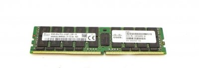 Оперативная память Cisco ORTIAL 32GB (1*32GB) 4RX4 PC4-17000P-L DDR4-2133MHZ LRDIMM (UCS-ML-1X324RU-A-OT) Refurbished