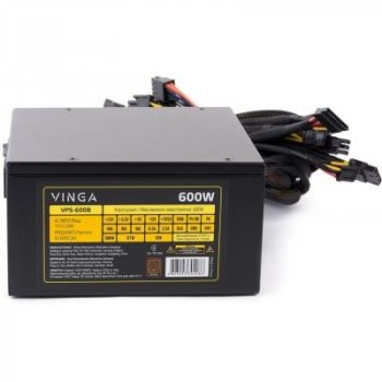 Блок питания Vinga 600W (VPS-600B)